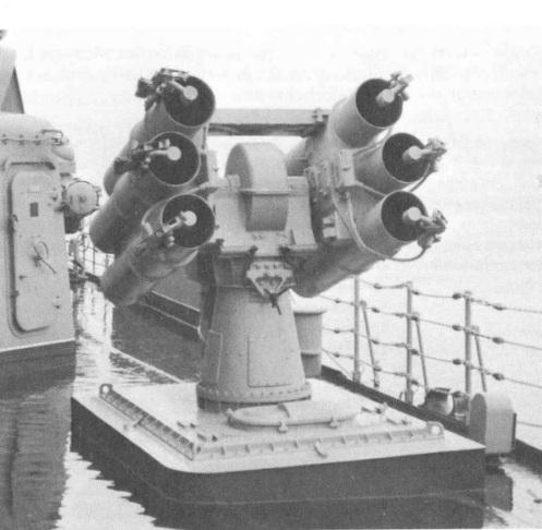 sistema antisubmarino RBU 1000