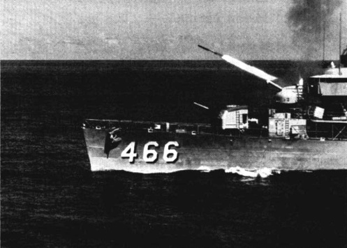 USS_Waller_(DDE-466)_launches_RUR-4_c1959