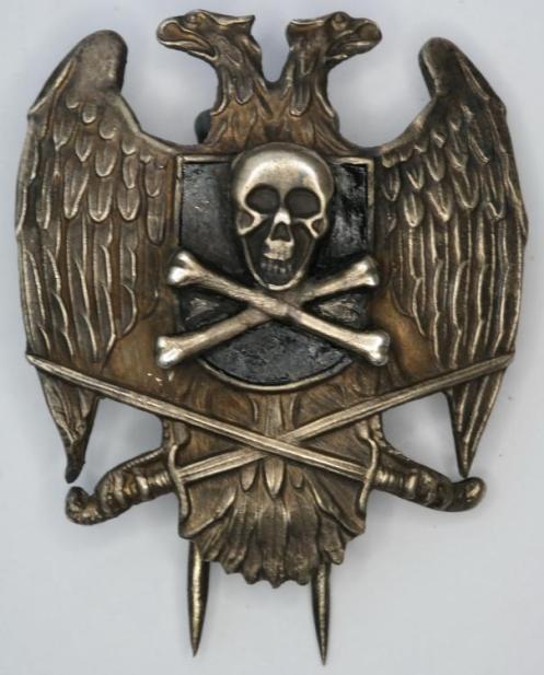 emblema cabeza de la muerte