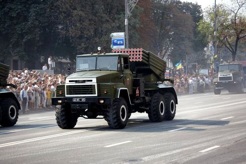 1024px-9K51_'Grad'_launcher_on_KrAZ_chassis