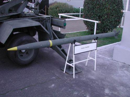 Cohete sapba 127mm