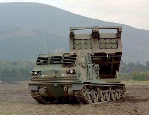 多連装ロケットシステム_自走発射機M270