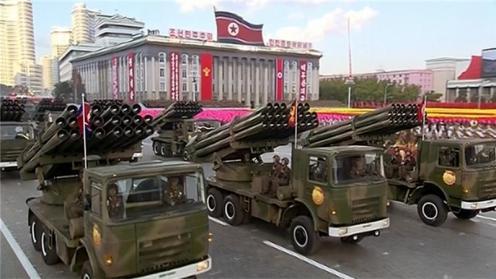 lanzacohetes 240mm corea del norte