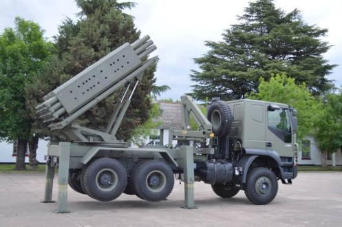 lanzacohetes múltiple CP- 30 (10)