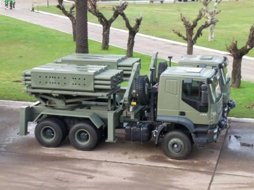 lanzacohetes múltiple CP- 30 (14)