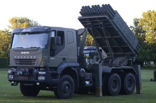 lanzacohetes múltiple CP- 30 (17)