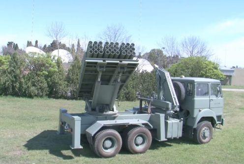 lanzacohetes múltiple CP- 30 (7)