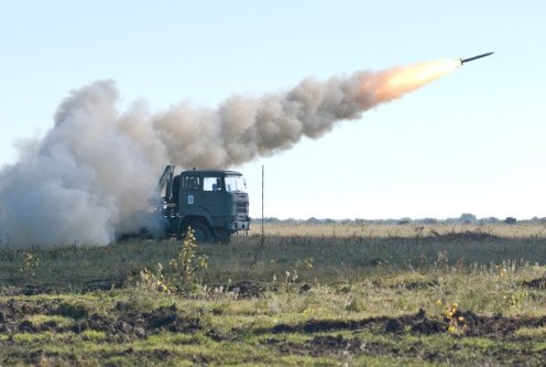 lanzacohetes múltiple CP- 30 (9)