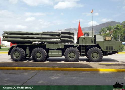 BM-30 smerch venezuela