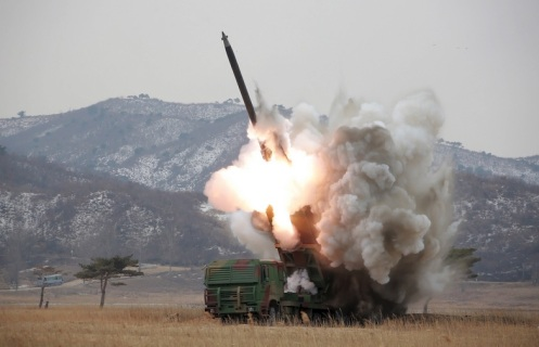 mlrs 300mm corea del norte